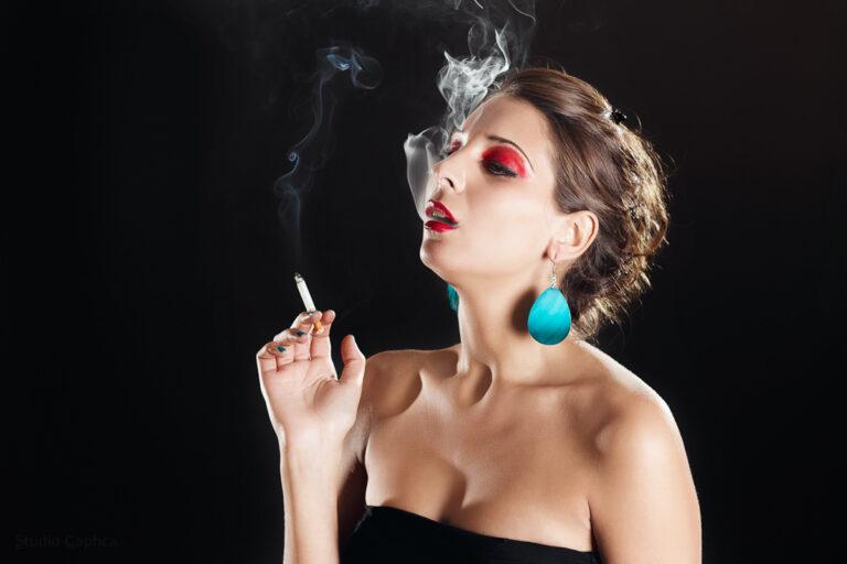 Dide_smoke_Model_Caphca_Photography