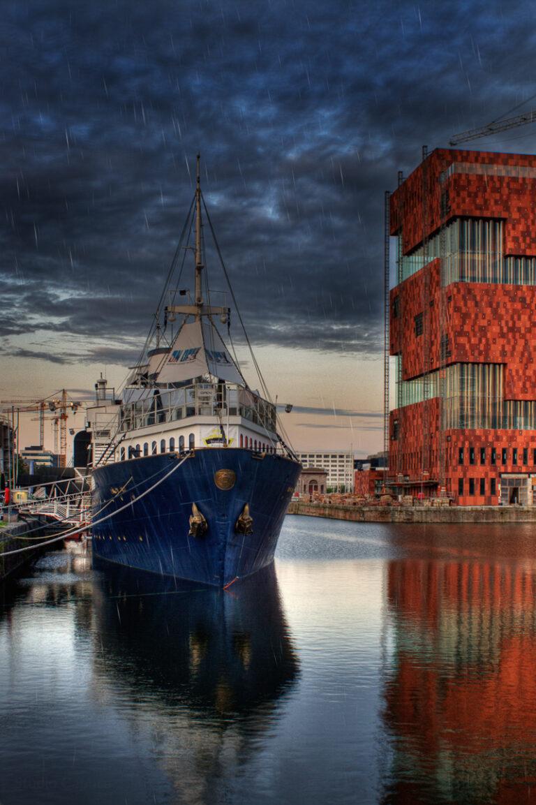 HDR_eilandje_boot_building_Architecture_Nano_Caphca_Het Mas